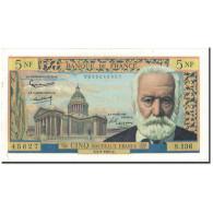 France, 5 Nouveaux Francs, 5 NF 1959-1965 ''Victor Hugo'', 1965-02-04, SUP - 5 NF 1959-1965 ''Victor Hugo''
