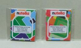 2 X 8 Stickers Uniques NUTELLA Rentrée Des Classes - Nutella