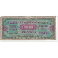 France, 50 Francs, 1944 Flag/France, 1944, TB, Fayette:19.01, KM:117a - 1944 Drapeau/France