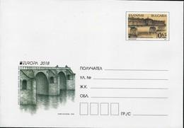 "BULGARIA/ BULGARIE/ BULGARIEN -EUROPA 2018 -""PUENTES.- BRIDGES - BRÜCKEN - PONTS"" - POSTAL  STATIONARY - 2018"