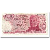 Billet, Argentine, 100 Pesos, Undated (1976-78), KM:302b, TB - Argentine