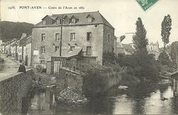 PONT-AVEN  -- Cours De L'Aven En Ville                                     -- Laurent 2958 - Pont Aven