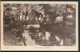 °°° 11648 - UK - THE RIVER , BEDFORD - 1913 With Stamps °°° - Bedford