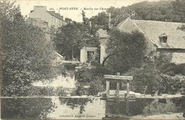 PONT-AVEN  --moulin Sur L'Aven                     -- Anglaret 285 - Pont Aven