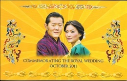 BHUTAN Nu. 100 Commemorating The Royal Wedding October 2011 - Bhoutan
