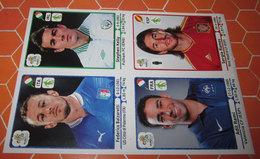 EURO 2012 PANINI N. 350 - 321 - 291 - 465 - Edizione Italiana