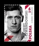 Poland 2018 Mih. 4994 Football. FIFA World Cup In Russia. Forward Robert Lewandowski MNH ** - 1944-.... Republic