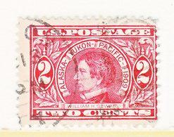 U.S.  370  (o)   ALASKA-YUKON  EXPO. - Used Stamps