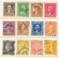 U.S.  704-15  (o)  WASHINGTON - Used Stamps