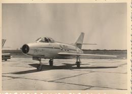 Photo 97 Mm X 70 Mm -  Années 50  - Avion à Réaction - Prototype - Début De L'aviation - Scan R/V - Aviation