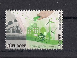 Belgique 2016 COB 4593 XX Think Green Europa - Belgique
