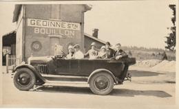 Belle Photo 110 Mm X 65 Mm Années 30 - Automobile Voiture - Gedinne Stn Bouillon Belgique  - Scan R/V - Automobiles