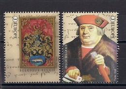 Belgique 2016 COB 4599/4600 XX La Magna Carta - Belgique