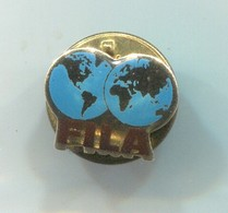 FILA - International Wrestling Federation, Vintage Pin, Badge, Abzeichen - Wrestling