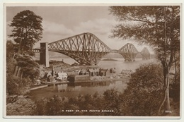 AK  A Peep Of The Forth Bridge - Ponts
