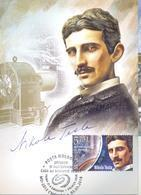 2018. Moldova, Inventions And Discoveries Which Changed The World, Nikola Tesla, Maxicard, Mint/** - Moldova