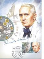 2018. Moldova, Inventions And Discoveries Which Changed The World, Al. Fleming, Maxicard, Mint/** - Moldova