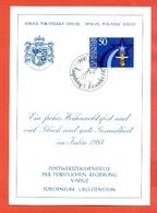 AUGURALI-BUON NATALE-BUON ANNO-CRISTIANESIMO-FUURSTENTUM LIECHTENSTEIN - 1983 - Liechtenstein