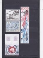 TAAF T.A.A.F. ANNEE 1989 POSTE AERIENNE DU N° 103 A 106A + 109 ** LOT DE 5 TIMBRES - Terres Australes Et Antarctiques Françaises (TAAF)