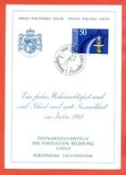 AUGURALI-BUON NATALE-BUON ANNO-CRISTIANUSIMO-FUURSTENTUM LIECHTENSTEIN - 1983 - Liechtenstein