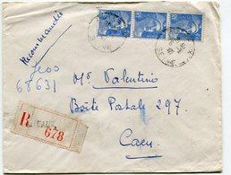 SEINE De PUTEAUX    Env.recom. De  1947  Avec Dateur    A 4 - Marcophilie (Lettres)