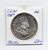 Belgio - 1987 - 5 ECU - Argento - (MW1461) - Belgio