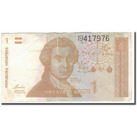 Billet, Croatie, 1 Dinar, 1991-10-08, KM:16a, TTB - Croatia