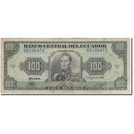 Billet, Équateur, 100 Sucres, 1988-06-08, KM:123Aa, B - Equateur