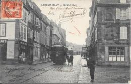 54 - LONGWY-HAUT - Grand'Rue - Tramway - Longwy