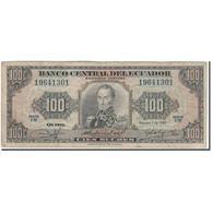 Billet, Équateur, 100 Sucres, 1980-02-01, KM:112a, B - Equateur