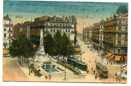 CPA - Carte Postale - France - Lyon - Place De République Et Rue Président Carnot - 1926 ( CP5246 ) - Lyon