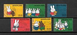 2005 Netherlands Complete Set Dick Bruna,Nijntje Used/gebruikt/oblitere - Periode 1980-... (Beatrix)