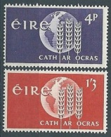 1963 EIRE LOTTA CONTRO LA FAME MNH ** - GB002 - 1949-... Repubblica D'Irlanda