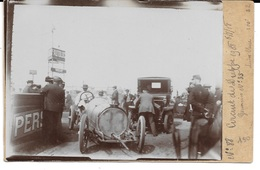 """76 - CIRCUIT DE DIEPPE 1908  - CARTE PHOTO N° 88 - """" Germain N° 35 """" - Très Bon état, Sur Support Rigide - - Dieppe"""