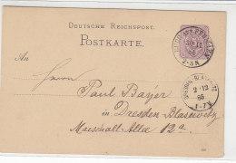GS Mit Zweikreiser Aus BURG AUF FEHMARN 30.11.86 - Lettres & Documents