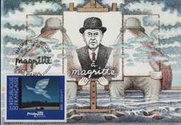 N° 3145 Le Retour Magritte - Maximumkarten