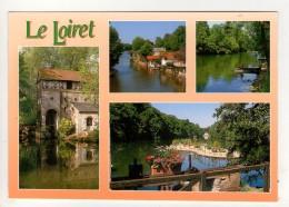 CP 10*15-WY1402-PROMENADES AU BORD DU LOIRET MULTIVUES - France