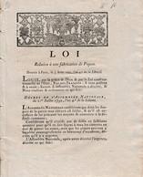 3 Août 1792 -  FABRICATION DES PIQUES - Révolution - Historische Documenten