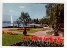 CP 10*15-WY1476-GENEVE LE PARC DE LA PERLE DU LAC 1985 - GE Geneva
