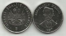 Haiti 5 Centimes 1997. High Grade - Haïti