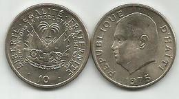 Haiti 10 Centimes 1975. High Grade - Haiti