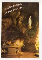 CP 10*15-WY1787-LOURDES LA GROTTE MIRACULEUSE MULTIVUES 1979 - Lourdes