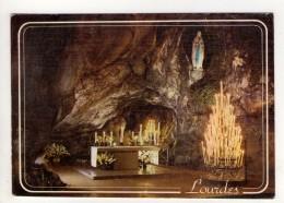 CP 10*15-WY1796-LOURDES LA GROTTE MIRACULEUSE 1983 - Lourdes