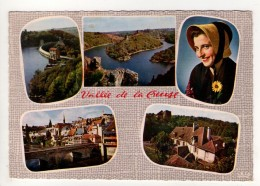 CP 10*15-WY1803-VALLEE DE LA CREUSE MULTIVUES 1964 - France