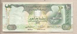 Emirati Arabi Uniti - Banconota Circolata Da 10 Dirhams P-27d - 2015 - Emirati Arabi Uniti