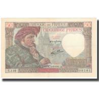 France, 50 Francs, 50 F 1940-1942 ''Jacques Coeur'', 1941-09-11, TTB - 1871-1952 Anciens Francs Circulés Au XXème