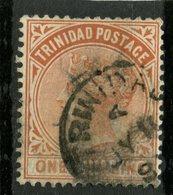 Trinidad 1884 1sh Queen Victoria Issue #73 - Trinidad & Tobago (...-1961)