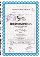 75-EURO DISNEYLAND S.C.A. Marne La Vallée. DECO MICKEY - Other