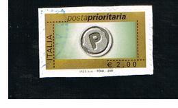 ITALIA REPUBBLICA  -  2004   PRIORITARIA DA 2,00       - USATO ° - 1946-.. République