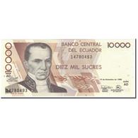 Billet, Équateur, 10,000 Sucres, 1998-12-14, KM:127c, NEUF - Equateur